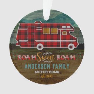 Motorhome rv Camper Travel Van Rustic Personalized