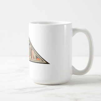 Motos de coton mug blanc