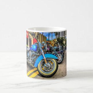 Motos de Harley Davidson Mug Blanc