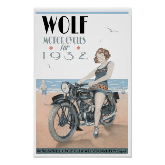 Motos de loup poster