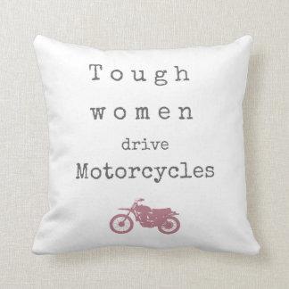 Motos dures d'entraînement de femmes oreillers