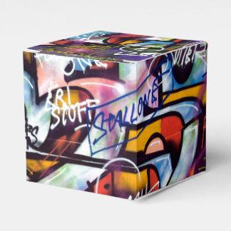 Mots colorés de graffiti ballotin pour dragées