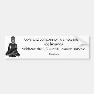 Mots de Dalai Lama Autocollant Pour Voiture