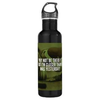 Mots de motivation de la séance d'entraînement des bouteille d'eau en acier inoxydable