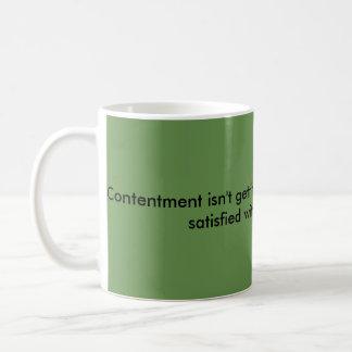 mots de tasse de café de sagesse