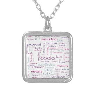 Mots pour des livres collier