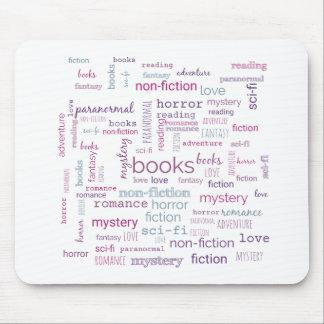 Mots pour des livres tapis de souris