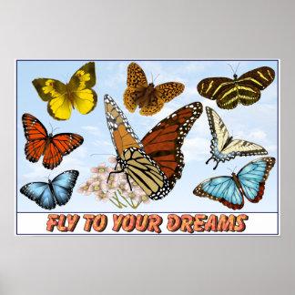 Mouche à vos rêves posters