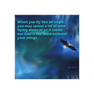Mouche comme Eagle Toile