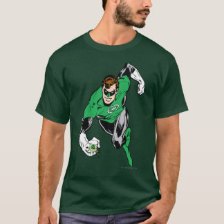 Mouche de lanterne verte en avant t-shirt