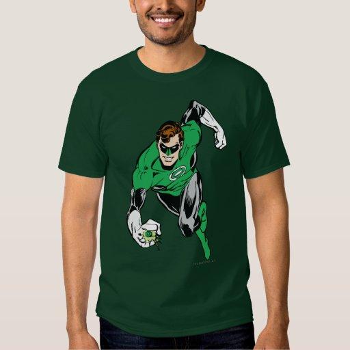 Mouche de lanterne verte en avant t-shirts
