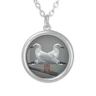 Mouette-capable Pendentif Rond
