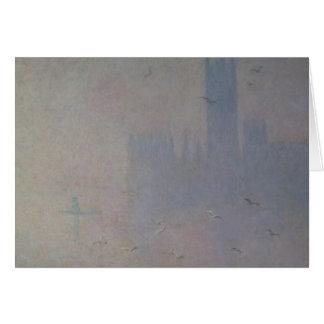 Mouettes de Claude Monet | au-dessus des Chambres Carte De Vœux