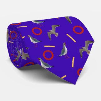Mouettes et fritures cravates