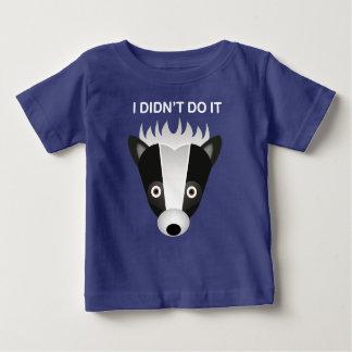 Mouffette - T-shirt fin du Jersey de bébé
