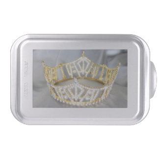 Moule à gâteaux de couronne d'or prêt pour customi