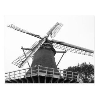 Moulin à vent néerlandais carte postale