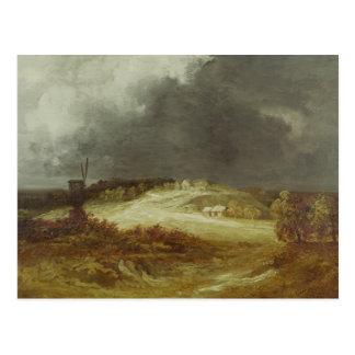 Moulin à vent sur les périphéries de Paris Carte Postale