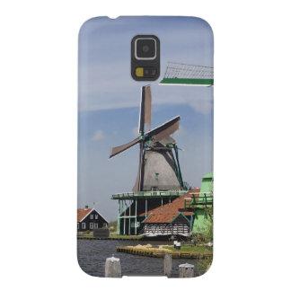 Moulin à vent, Zaanse Schans, Hollande, Pays-Bas 2 Coques Pour Galaxy S5