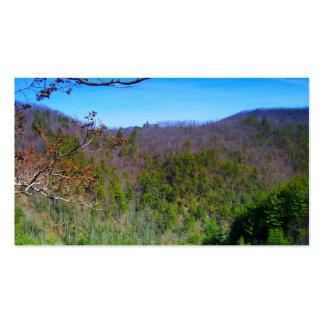 Mountain View Modèles De Cartes De Visite