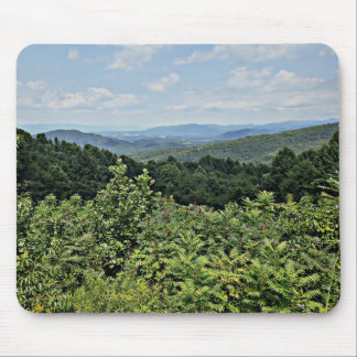 Mountain View - parc national de Shenandoah Tapis De Souris