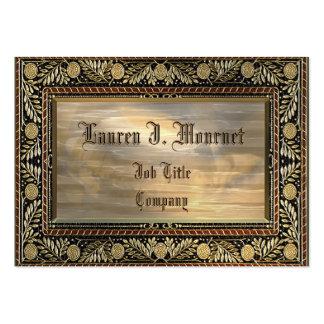 Mournet personnalisable carte de visite grand format
