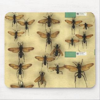 Mousepad avec les guêpes géantes de chasses tapis de souris