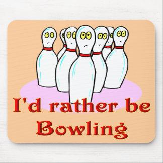 mousepad de bowling tapis de souris