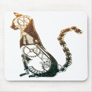 Mousepad de chat de Steampunk Tapis De Souris