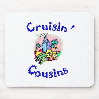 mousepad de cousins de cruisin tapis de souris