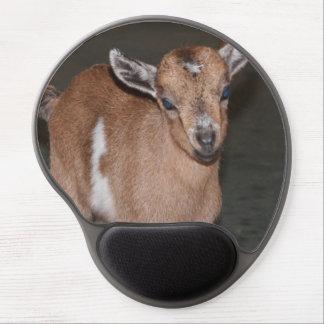 Mousepad de gel de chèvre de bébé tapis de souris avec gel