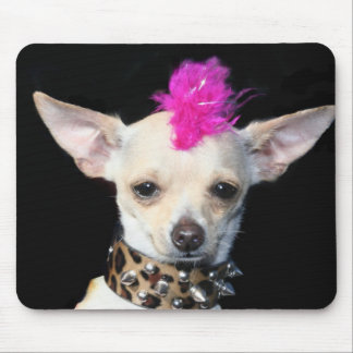 Mousepad de punk de chiwawa tapis de souris