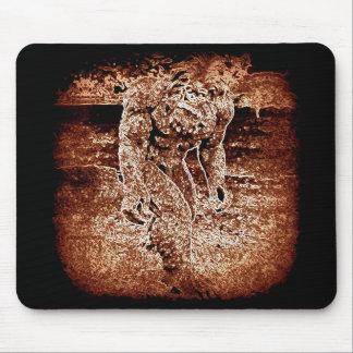mousepad de sasquatch tapis de souris