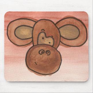 Mousepad de singe tapis de souris