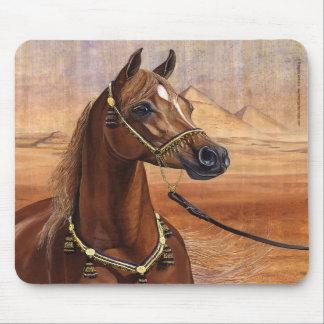 Mousepad égyptien de cheval de princesse Arabian Tapis De Souris