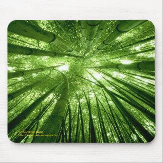 Mousepad en bambou de forêt tapis de souris