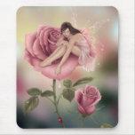 Mousepad féerique rose tapis de souris