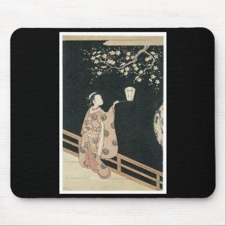 Mousepad japonais d'art tapis de souris