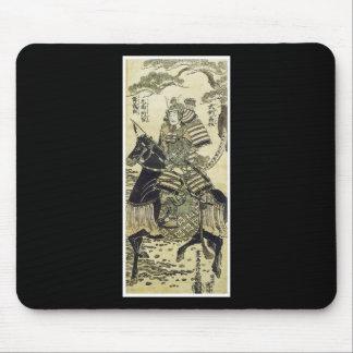 Mousepad japonais samouraï d'art tapis de souris