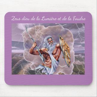 mousepad mythologie grecque, dieu Zeus Tapis De Souris