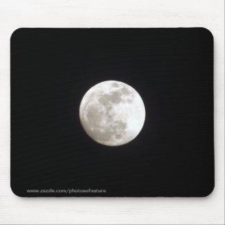 Mousepad - pleine lune sur le ciel nocturne clair tapis de souris