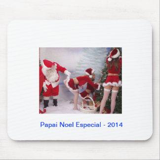 Mousepad Présent de Papa Noel. Tapis De Souris