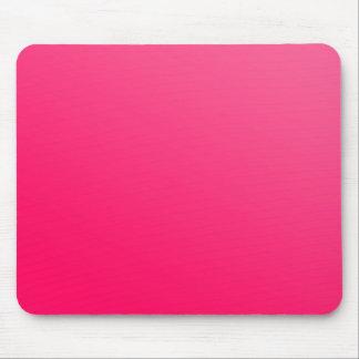 Mousepad rose au néon lumineux chaud tapis de souris