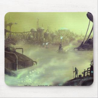 mousepad toxique de ville tapis de souris