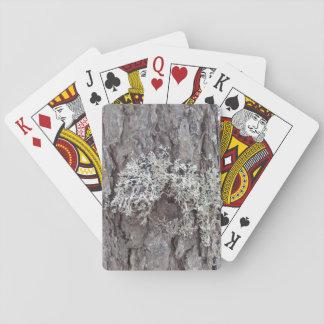 mousse bleue cartes à jouer