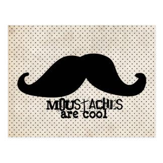 Moustache Carte Postale