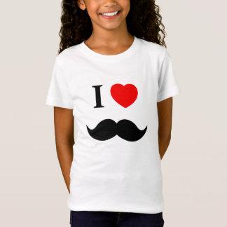 moustache d'amour de la chemise I T-Shirt