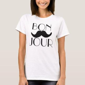 Moustache de BONJOUR T-shirt