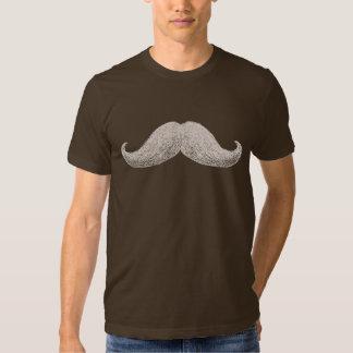 Moustache de La (foncée) T-shirts