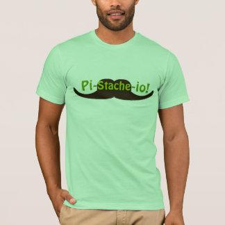 Moustache de la pistache Pi-stache-E/S T-shirt